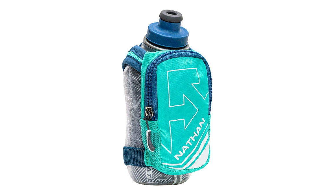Nathan Speedshot Plus Insulated 12 oz  - Color: Blue/Teal Size: OS, Blue/Blue, large, image 1