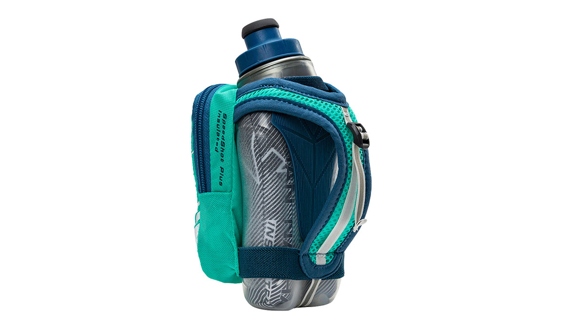 Nathan Speedshot Plus Insulated 12 oz  - Color: Blue/Teal Size: OS, Blue/Blue, large, image 2