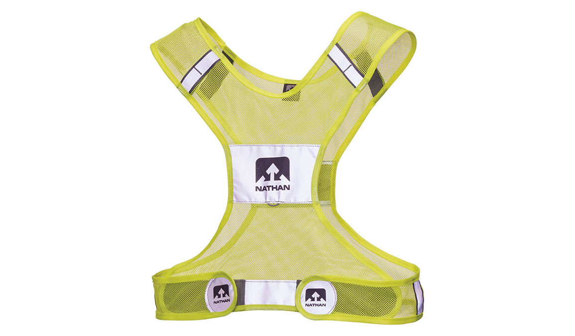 Nathan Streak Vest Large/Xtra Large Color: Neon Yellow Size: LG/XL, Yellow, large, image 1