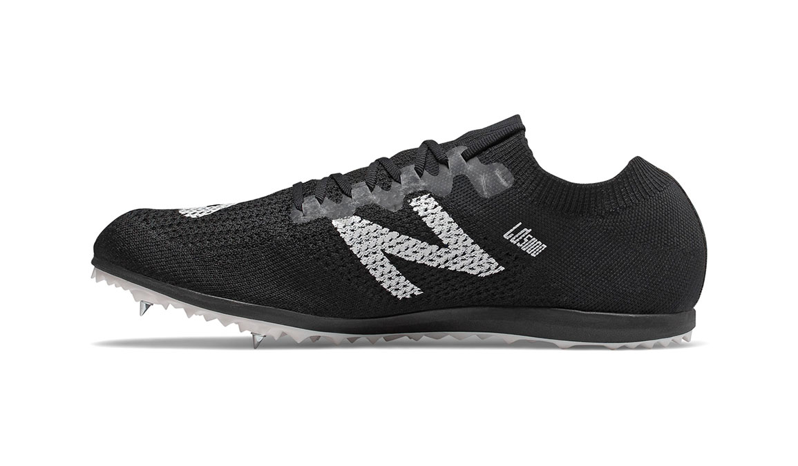 New Balance LD5Kv7 Track Spike - Color: Black/White (Regular Width) - Size: 5, Black/White, large, image 2
