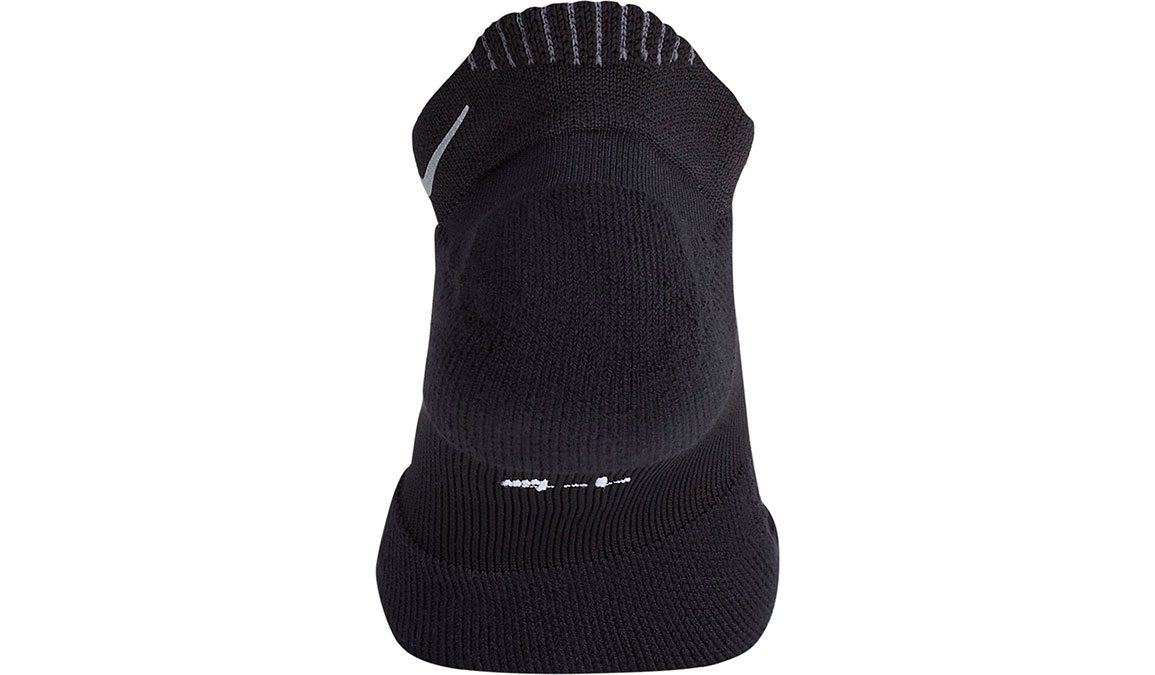 Nike Elite Cushioned Ankle Socks - Color: Black/Reflective Size: M4/W5.5, Black/Reflective, large, image 3
