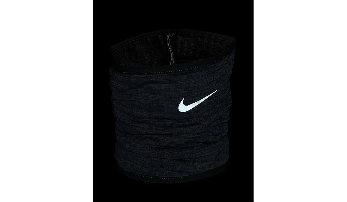 Nike Run Therma-Sphere Neck Warmer 3.0 - Color: Iron Grey Heather/Silver Size: L/XL, Iron Grey Heather/Silver, large, image 2