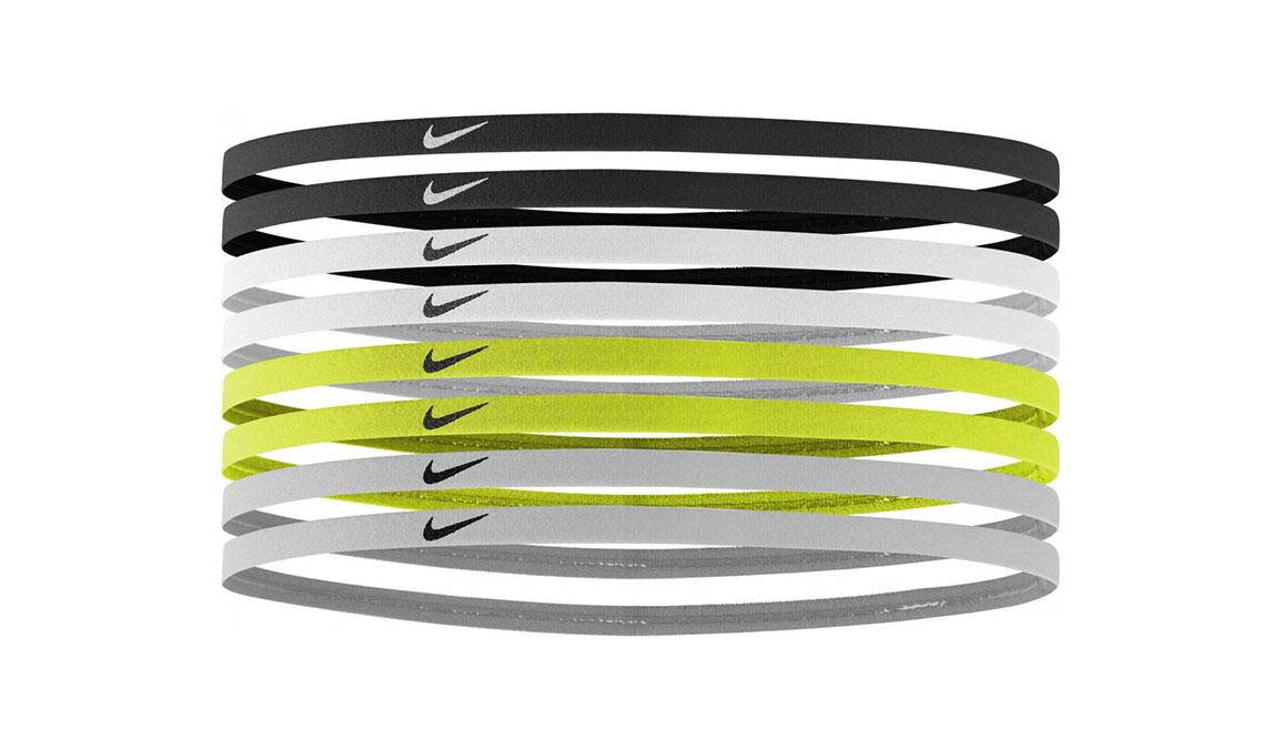 Nike Skinny Hairbands 8 Pack - Color: Black/White Size: OS, Black/White, large, image 1