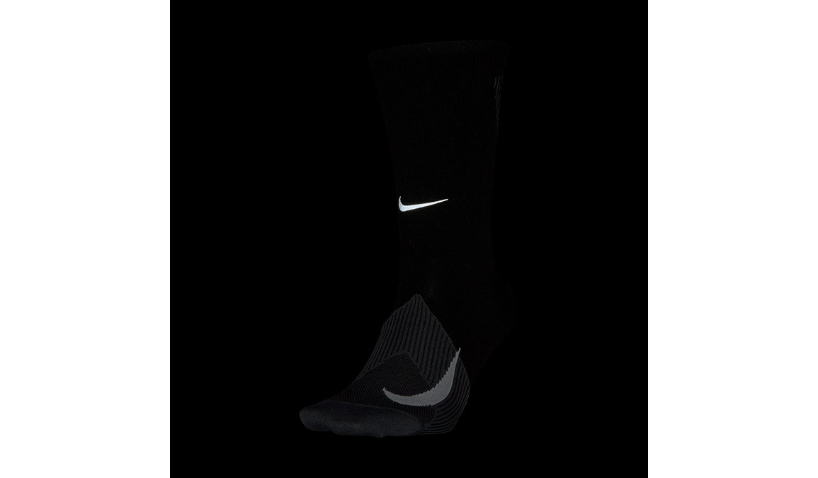 Nike Spark Lightweight Crew  - Color: Black/Dark Grey/White Size: M4/W5.5, Black/Dark Grey/White, large, image 2