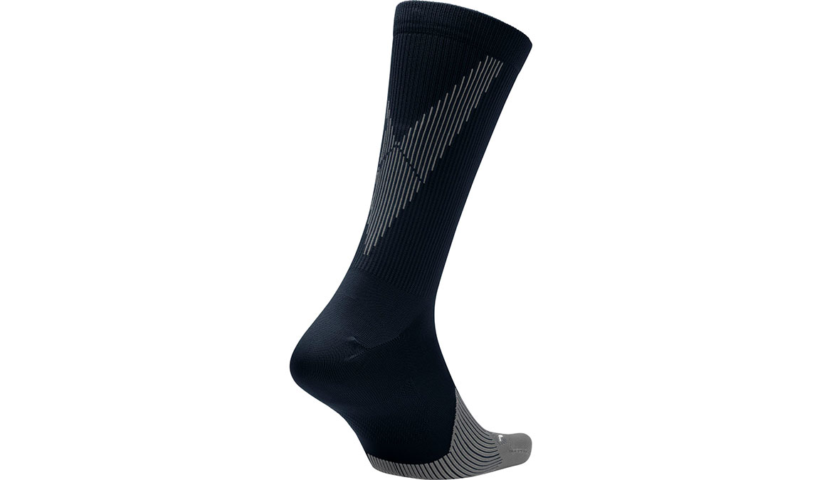 Nike Spark Lightweight Crew  - Color: Black/Dark Grey/White Size: M4/W5.5, Black/Dark Grey/White, large, image 3