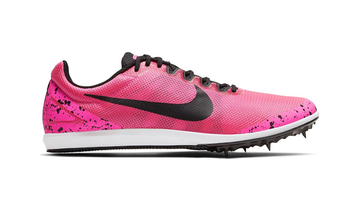 Nike Zoom Rival D 10 Track Spike - Color: Pink Blast/Black (Regular Width) - Size: 4, Pink Blast/Black, large, image 1