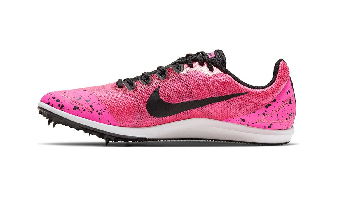 Nike Zoom Rival D 10 Track Spike - Color: Pink Blast/Black (Regular Width) - Size: 4, Pink Blast/Black, large, image 2