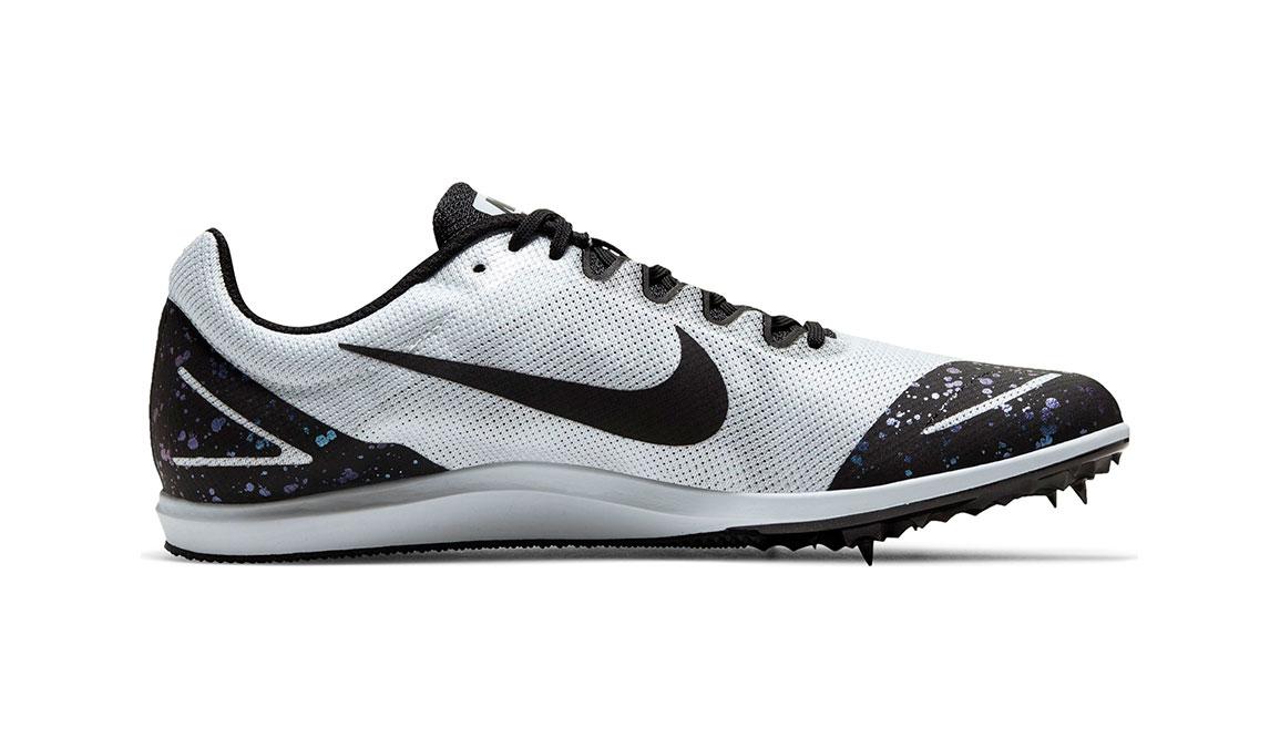 Nike Zoom Rival D 10 Track Spike - Color: Pure Platinum/Black/Indigo Fog (Regular Width) - Size: 4, Pure Platinum/Black/Indigo Fog, large, image 2