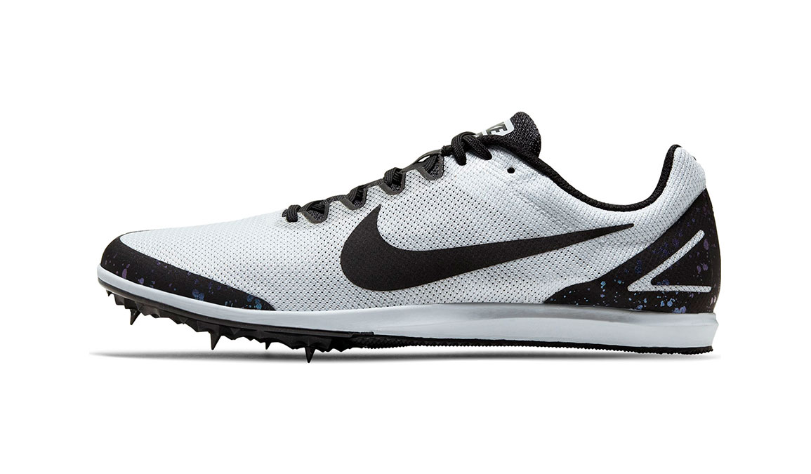 Nike Zoom Rival D 10 Track Spikes - Color: Pure Platinum/Black/Indigo Fog (Regular Width) - Size: 4, Pure Platinum/Black/Indigo Fog, large, image 3
