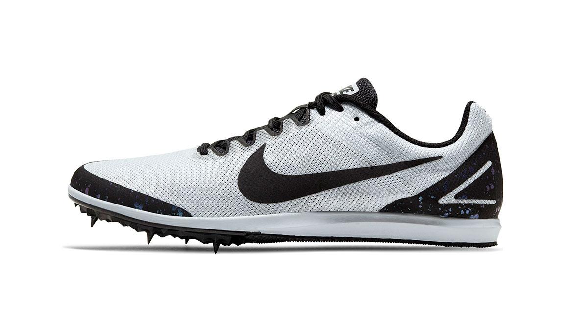 Nike Zoom Rival D 10 Track Spike - Color: Pure Platinum/Black/Indigo Fog (Regular Width) - Size: 4, Pure Platinum/Black/Indigo Fog, large, image 3