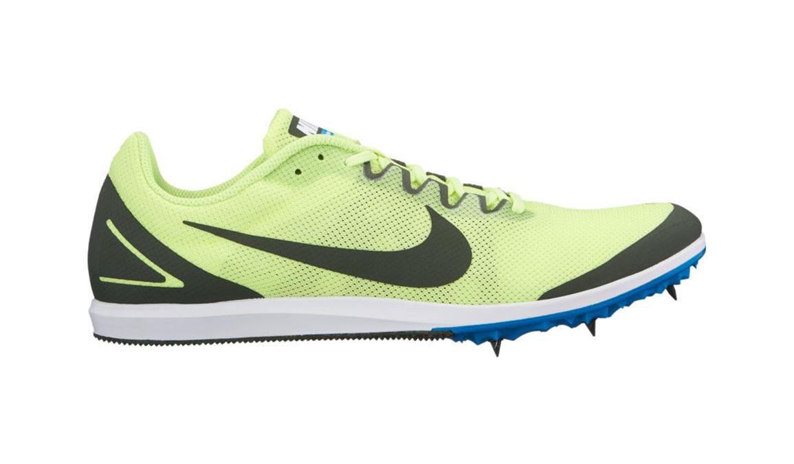 Nike Zoom Rival D 10 Track Spikes - Color: Volt Gow/Sequoia Blue (Regular Width) - Size: 5, Volt Glow/Sequoia Blue, large, image 1