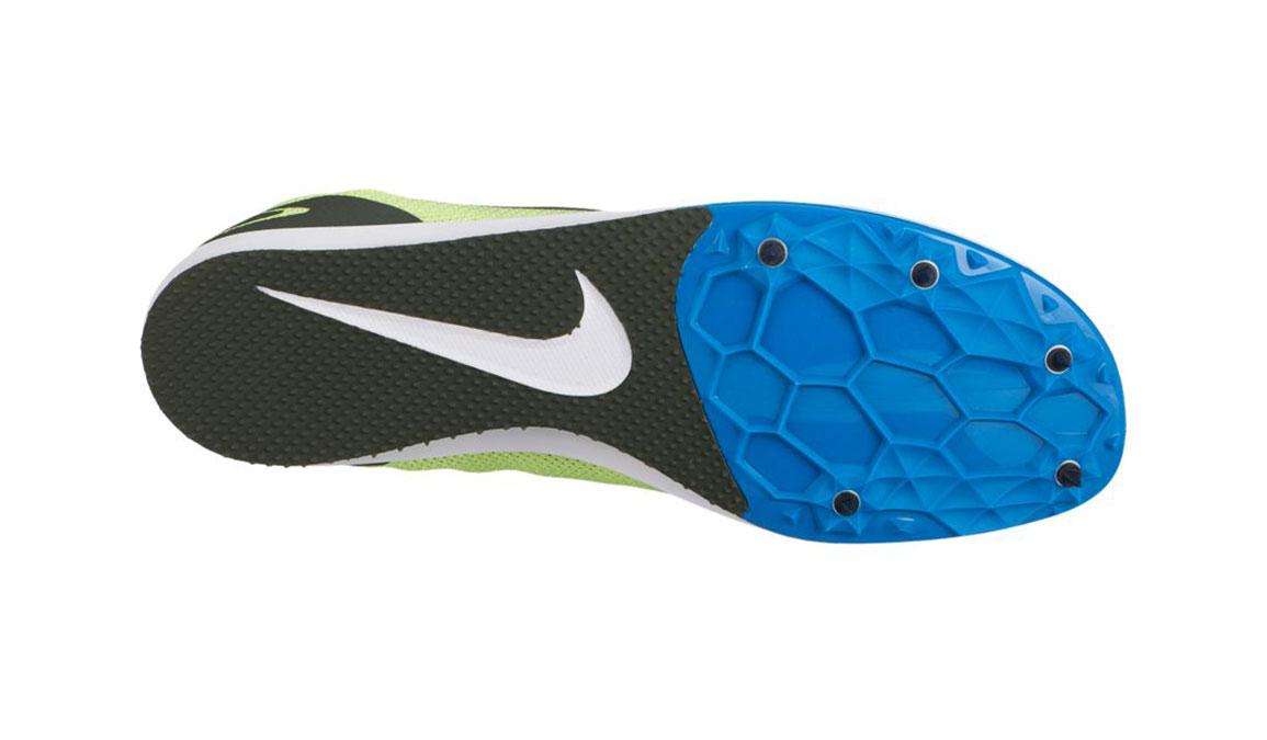 Nike Zoom Rival D 10 Track Spikes - Color: Volt Gow/Sequoia Blue (Regular Width) - Size: 5, Volt Glow/Sequoia Blue, large, image 2