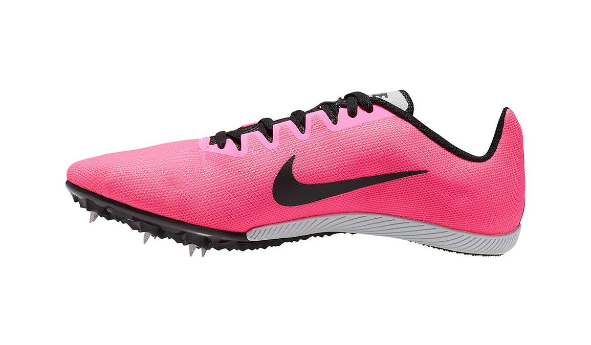 Nike Zoom Rival M 9 Track Spikes - Color: Pink Blast/Metallic Silver (Regular Width) - Size: 4, Pink Blast/Metallic Silver, large, image 2