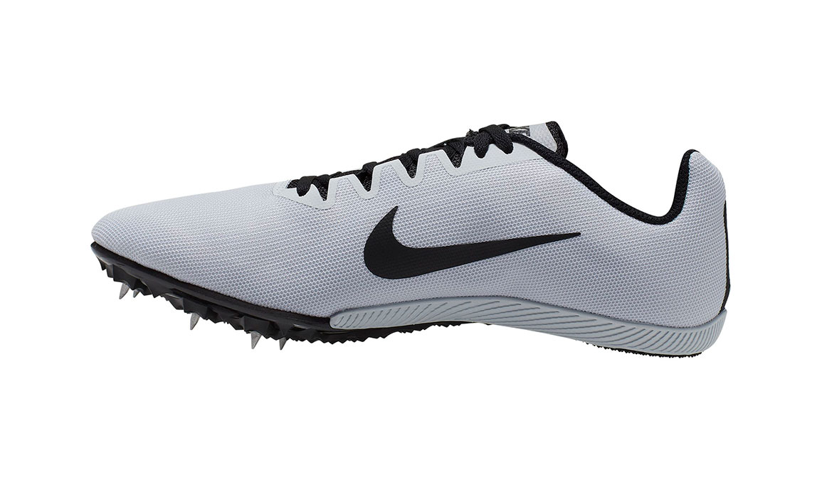 Nike Zoom Rival M 9 Track Spikes - Color: Pure Platinum/Black (Regular Width) - Size: 5, Pure Platinum/Black, large, image 2
