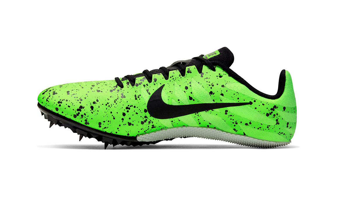 Nike Zoom Rival S 9 Track Spikes - Color: Electric Green/Black/Pure Platinum (Regular Width) - Size: 6, Electric Green/Black/Pure Platinum, large, image 2