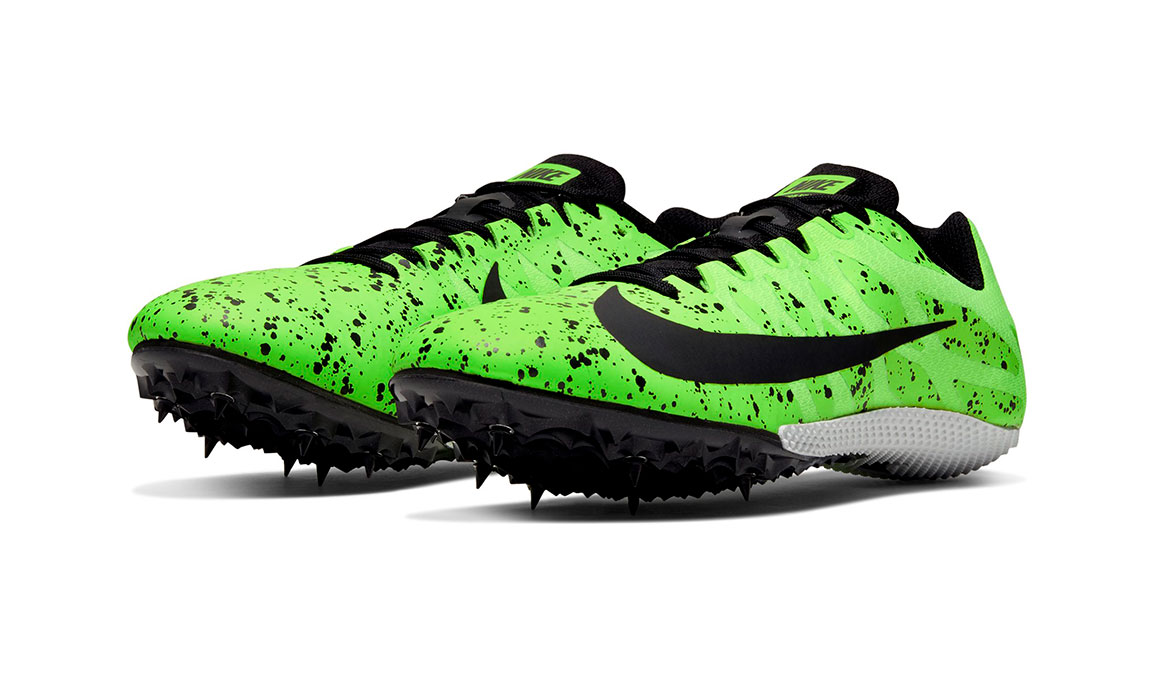 Nike Zoom Rival S 9 Track Spikes - Color: Electric Green/Black/Pure Platinum (Regular Width) - Size: 6, Electric Green/Black/Pure Platinum, large, image 5