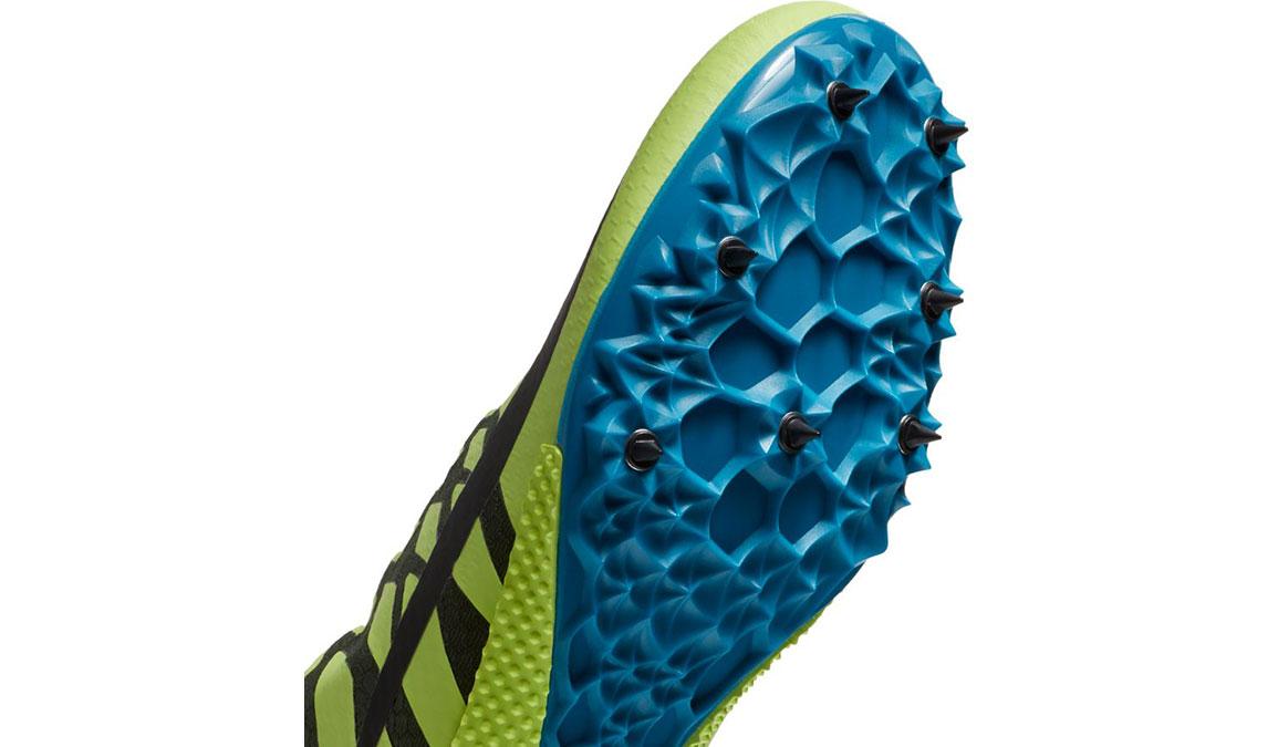 Men's Nike Zoom Rival S 9 Track Spike - Color: Volt Glow/Black (Regular Width) - Size: 5, Volt Glow/Black, large, image 4