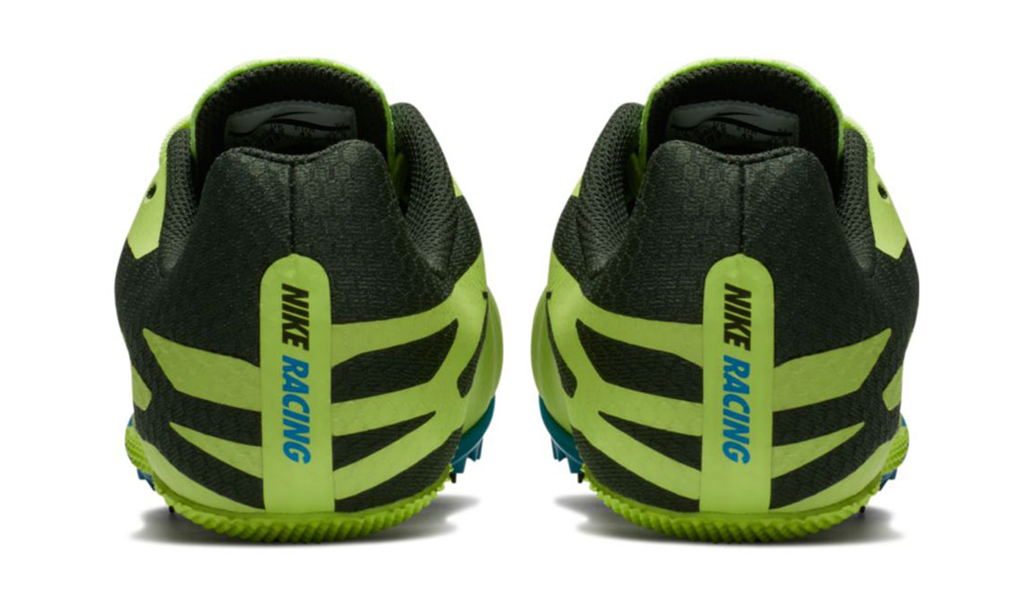 Men's Nike Zoom Rival S 9 Track Spikes - Color: Volt Glow/Black (Regular Width) - Size: 5, Volt Glow/Black, large, image 5
