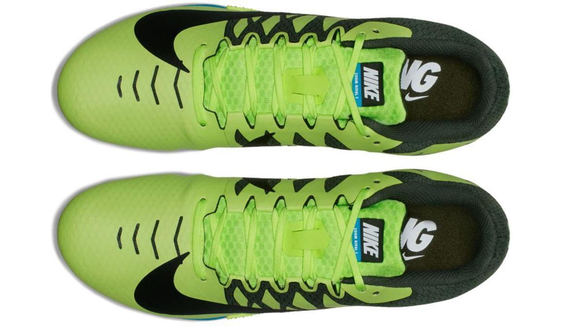 Men's Nike Zoom Rival S 9 Track Spikes - Color: Volt Glow/Black (Regular Width) - Size: 5, Volt Glow/Black, large, image 6