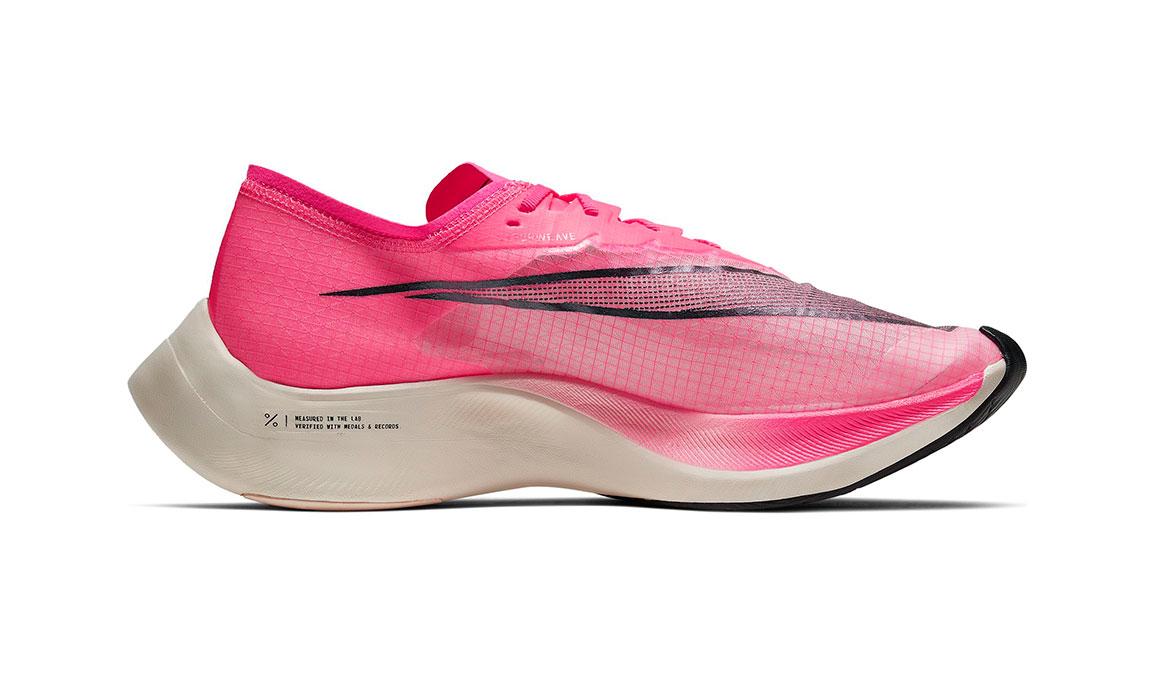 Nike ZoomX Vaporfly NEXT% Running Shoe - Color: Marathon Pack Pink (Regular Width) - Size: 3.5, Marathon Pack Pink, large, image 2