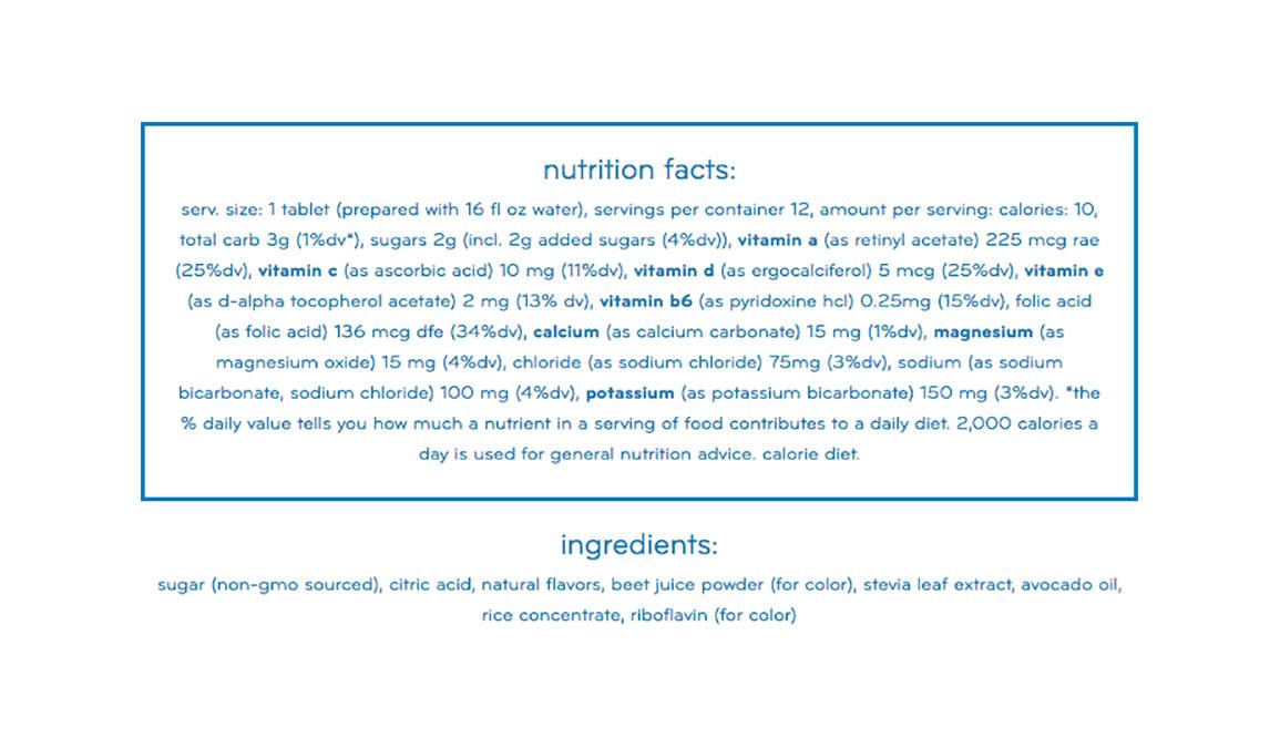 Nuun Vitamins Drink Tablets - Flavor: Blackberry Citrus + Caffeine - Size: Box of 8, Blackberry Citrus + Caffeine, large, image 2