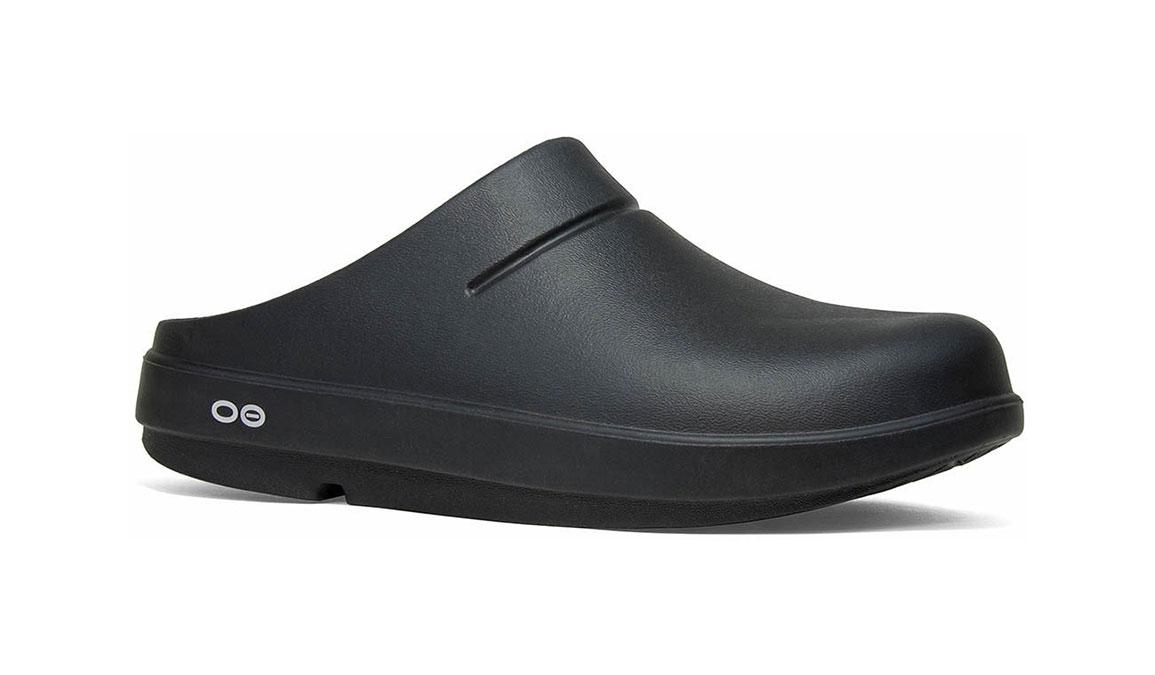 Oofos OOcloog - Color: Black (Regular Width) - Size: M5/W7, Black, large, image 1
