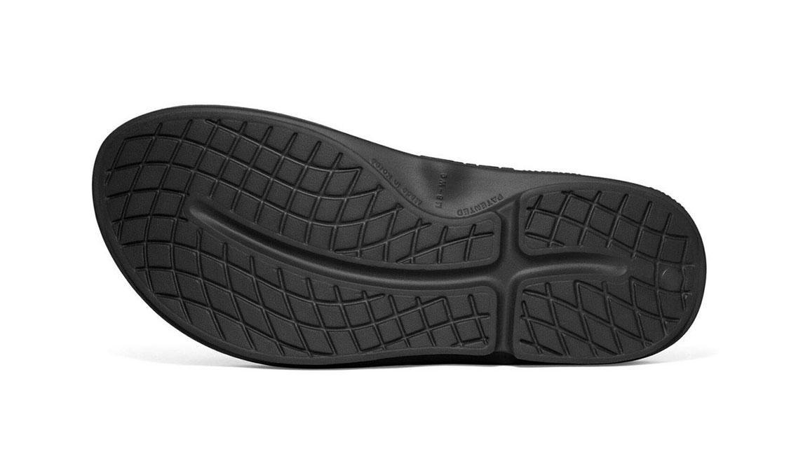 Oofos OOriginal Sport Recovery Sandal - Color: Black/Brown - Size: M9/W11 - Width: Regular, Black/Brown, large, image 6