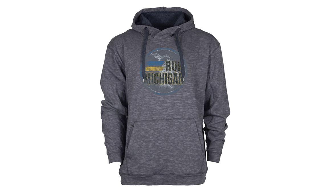 Ouray Run Michigan Sweatshirt - Color: Textured Black Size: M, Black, large, image 1