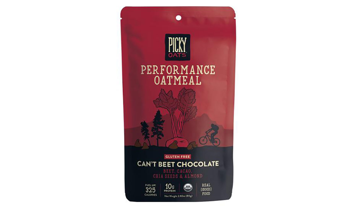 Picky Oats Performance Oatmeal - Flavor: Can't Beet Chocolate - Size: Box of 10, Can't Beet Chocolate, large, image 1