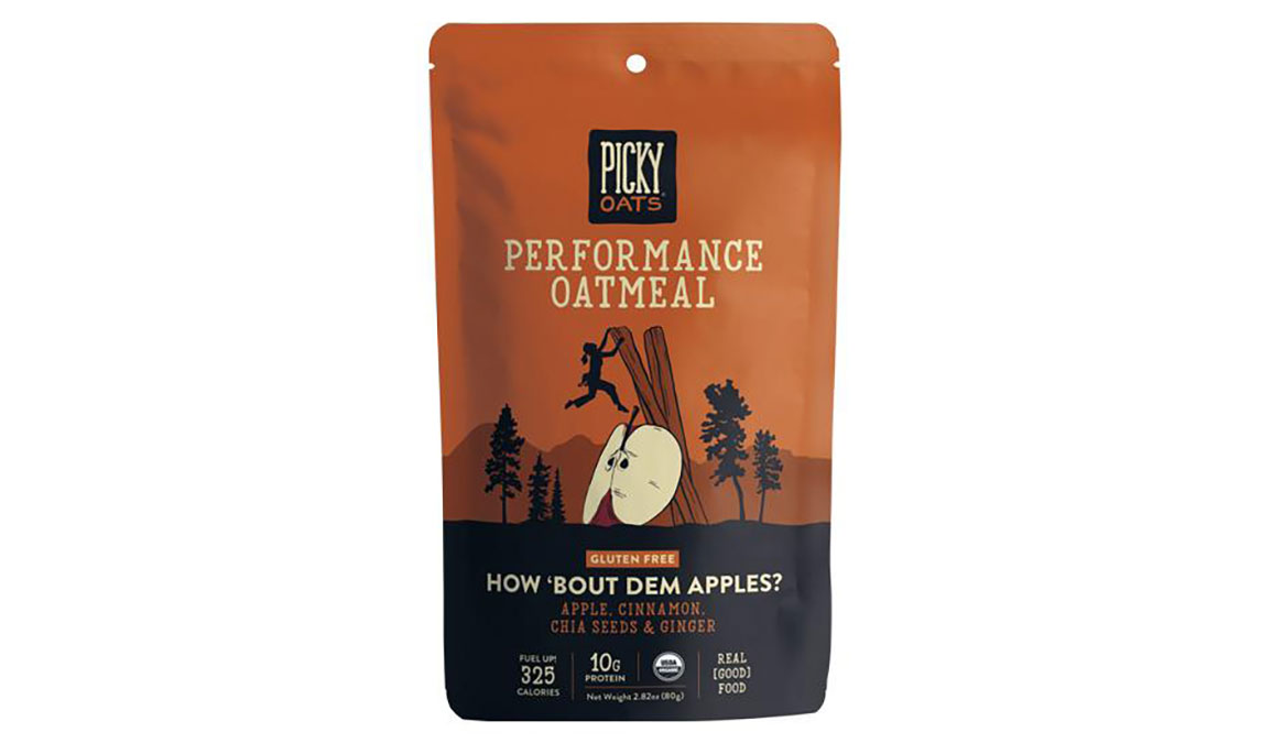 Picky Oats Performance Oatmeal - Flavor: How 'bout Dem Apples? - Size: Box of 10, How 'bout Dem Apples?, large, image 1