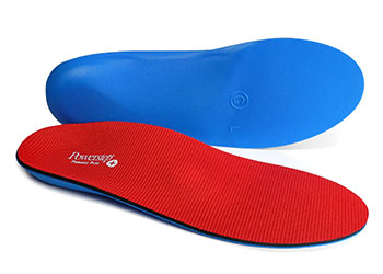 Powerstep Pinnacle Plus Met Full Length - Color: Red - Size: F, Red, large, image 1