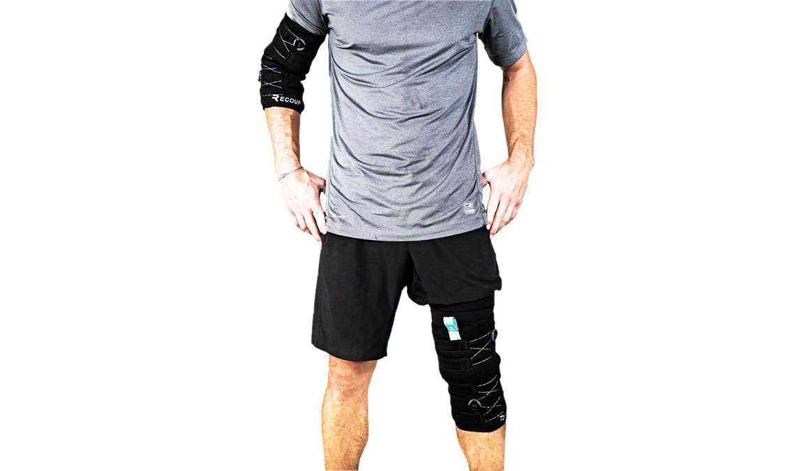Recoup Fitness Recoup Fitness Cryosleeve - Color: Black Size: XL, Black, large, image 2