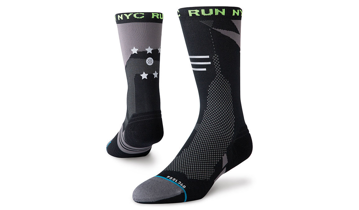 Unisex Stance NYC Run Tower - Color: Black Size: M, Black, large, image 1