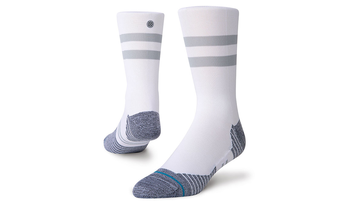 Stance Run Light Crew ST - Color: White Size: S, White, large, image 1