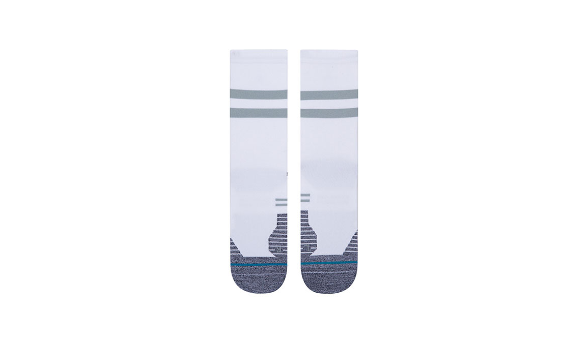 Stance Run Light Crew ST - Color: White Size: S, White, large, image 2