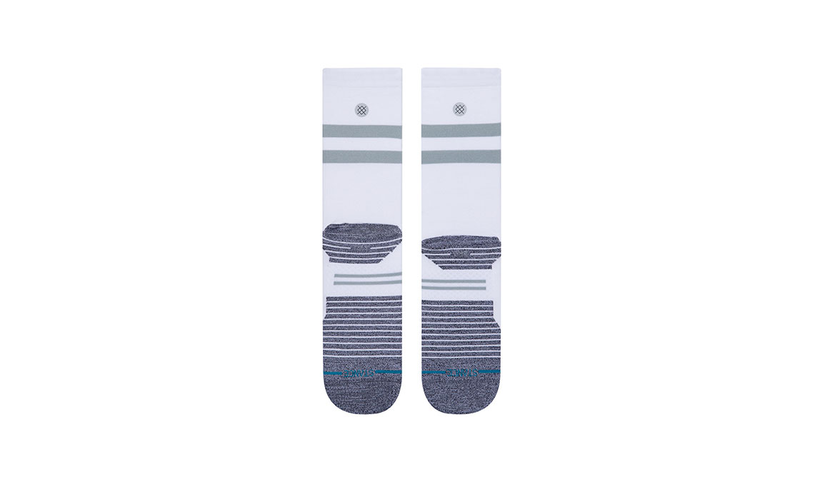 Stance Run Light Crew ST - Color: White Size: S, White, large, image 3