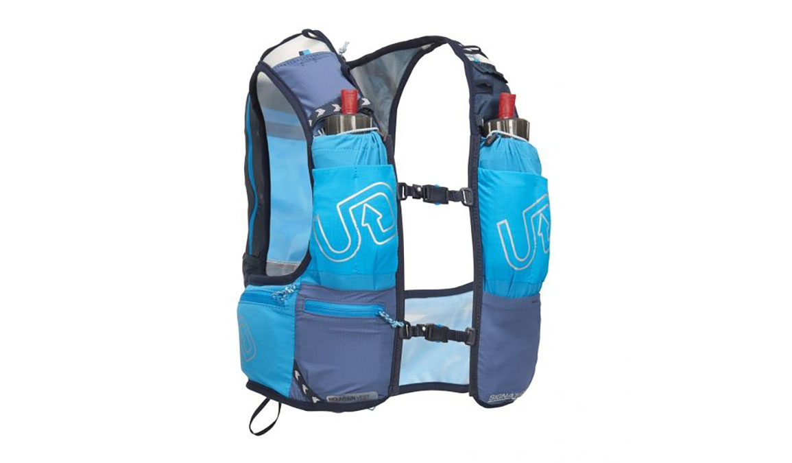 Ultimate Direction Mountain Vest 4.0 - Color: Blue Size: M, Blue, large, image 2