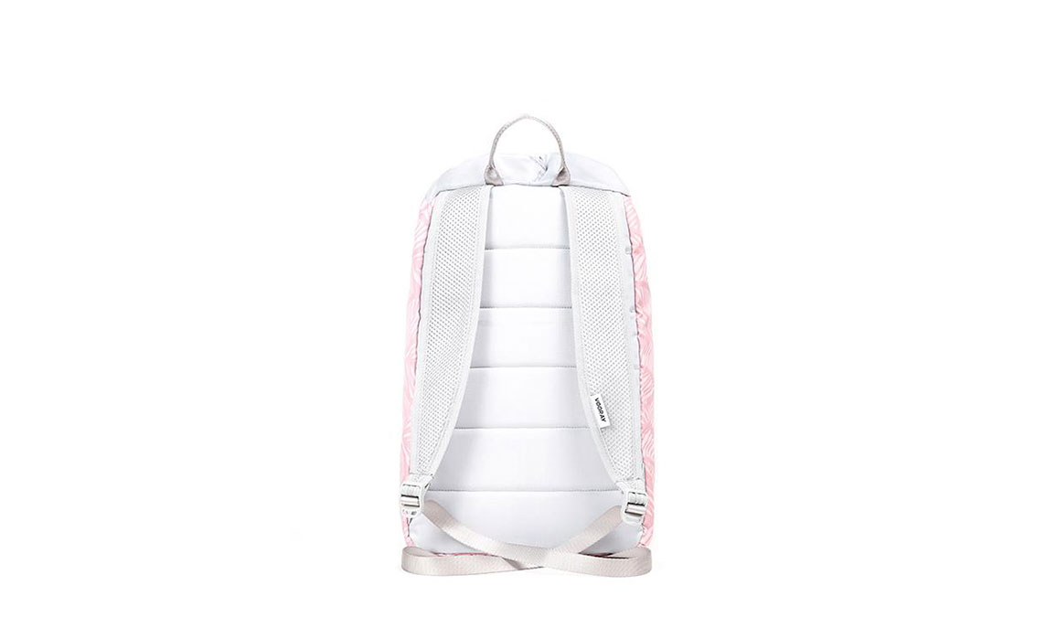 Vooray Stride Cinch Backpack - Color: Feather Pink Size: OS, Pink/White, large, image 2