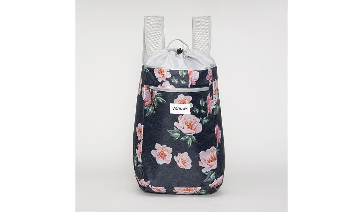 Vooray Stride Cinch Backpack - Color: Rose Navy, Navy Print, large, image 1