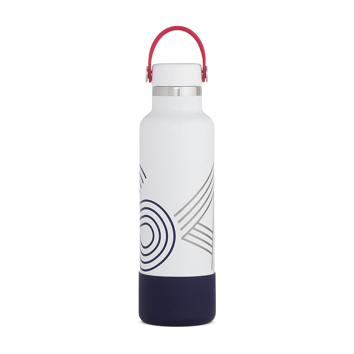 Hydro Flask 21 oz Standard Mouth USA Bottle - Color: Red/White/Blue, Red/White/Blue, large, image 2