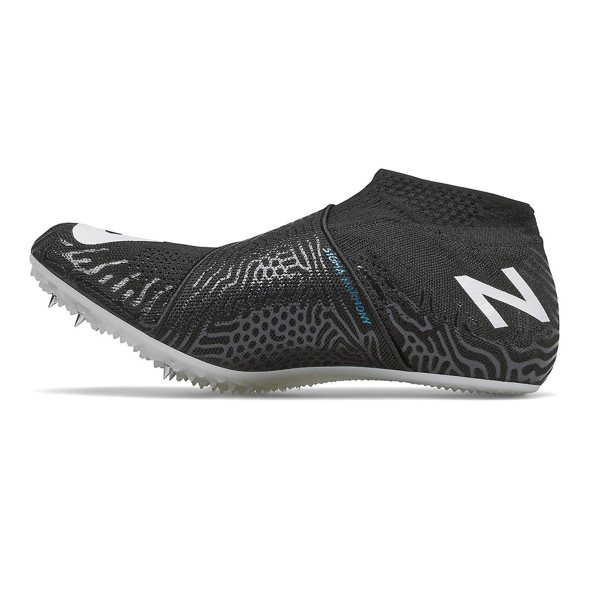 Men's New Balance Sigma Harmony V2 Track Spikes - Color: Black/White - Size: 4.5 - Width: Regular, Black/White, large, image 2