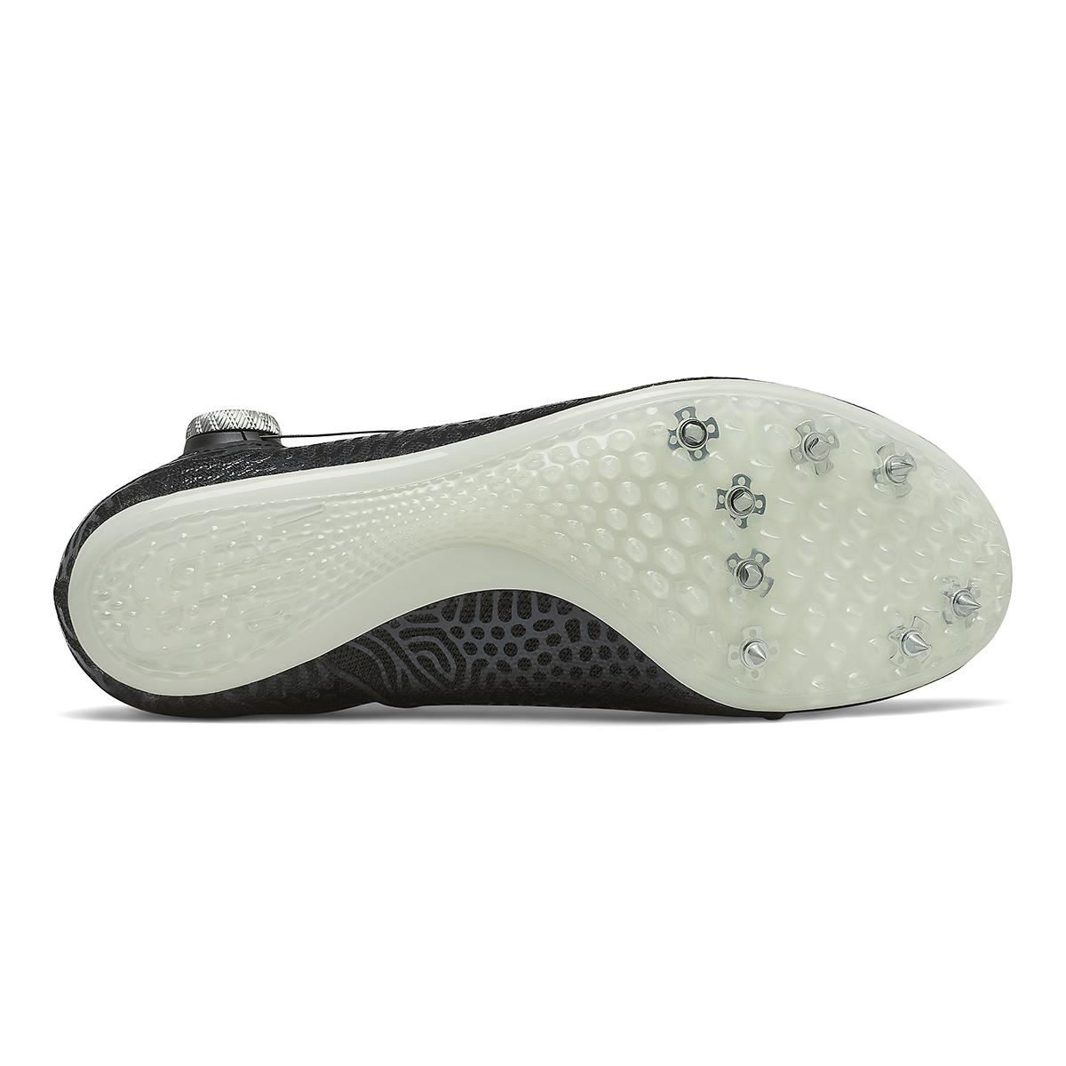 Men's New Balance Sigma Harmony V2 Track Spikes - Color: Black/White - Size: 4.5 - Width: Regular, Black/White, large, image 4