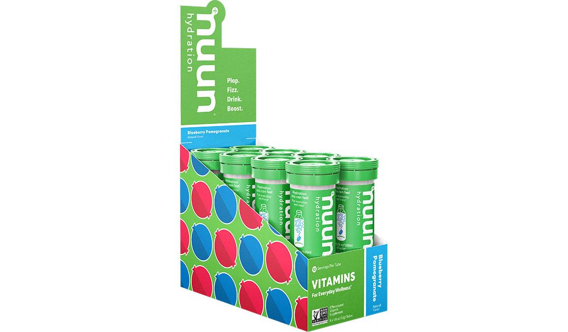Nuun Vitamin Tablets - Singles - Flavor: Blueberry Pomegranate Size: Single Tube - 12 Servings, Blueberry Pomegranate, large, image 1