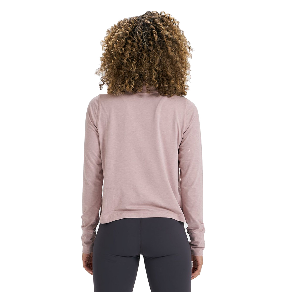 Women's Vuori Crescent Half Zip - Color: Dusk Heather - Size: XS, Dusk Heather, large, image 2