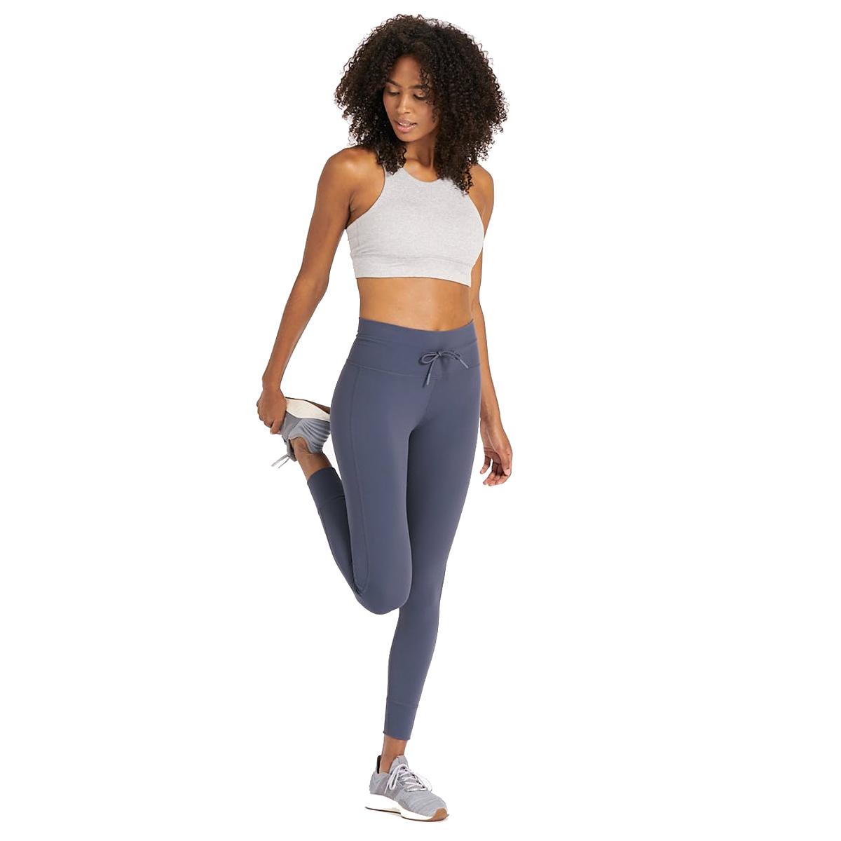Women's Vuori Daily Legging  - Color: Ocean - Size: M, Ocean, large, image 4