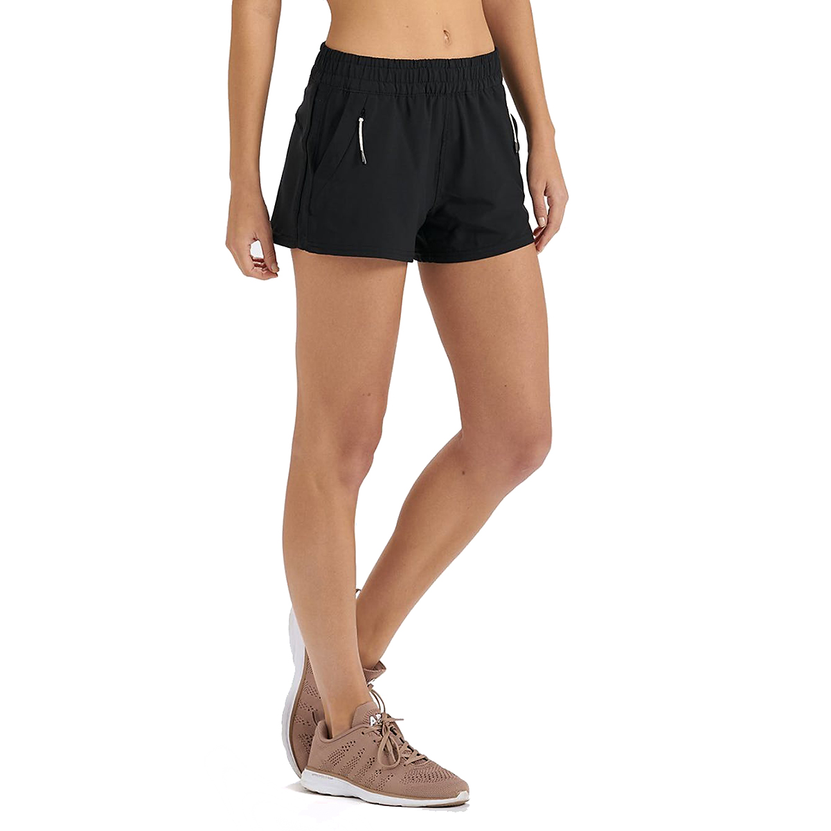 Women's Vuori Dash Short  - Color: Black - Size: XS, Black, large, image 2