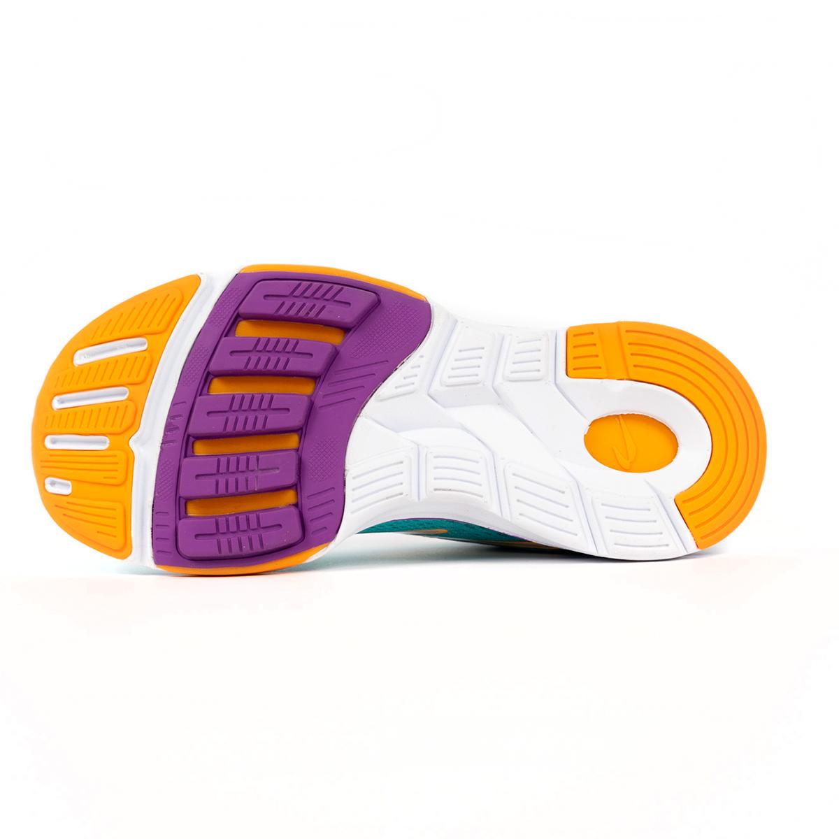 Women's Newton Gravity 9 Running Shoe - Color: Jade/Purple (Regular Width) - Size: 5, Jade/Purple, large, image 3
