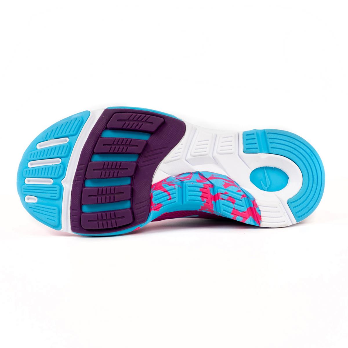 Women's Newton Motion 9 Running Shoe - Color: Pink/Aqua (Regular Width) - Size: 5, Pink/Aqua, large, image 4
