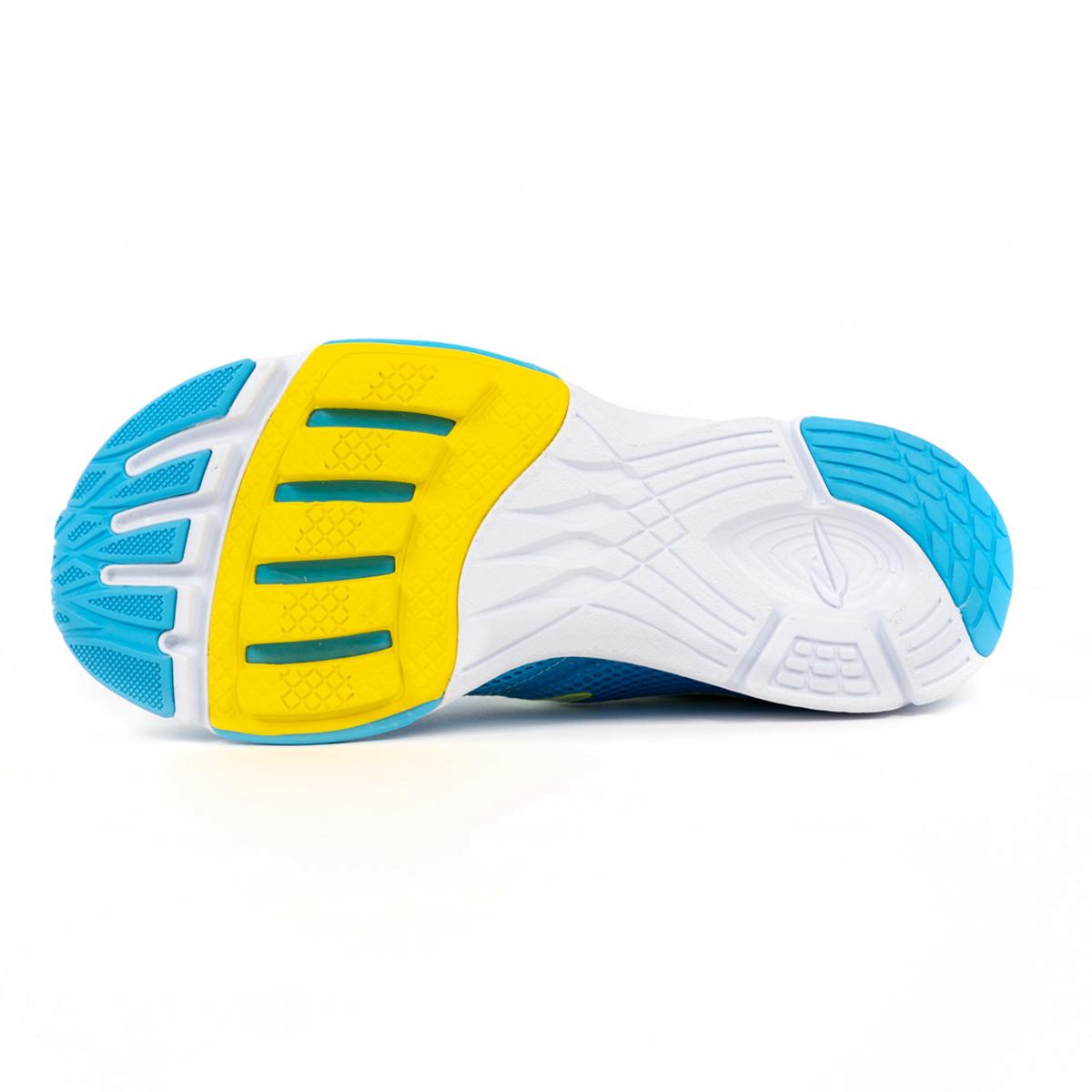 Women's Newton Distance 9 Running Shoe - Color: Laguna/Yellow (Regular Width) - Size: 5, Laguna/Yellow, large, image 4