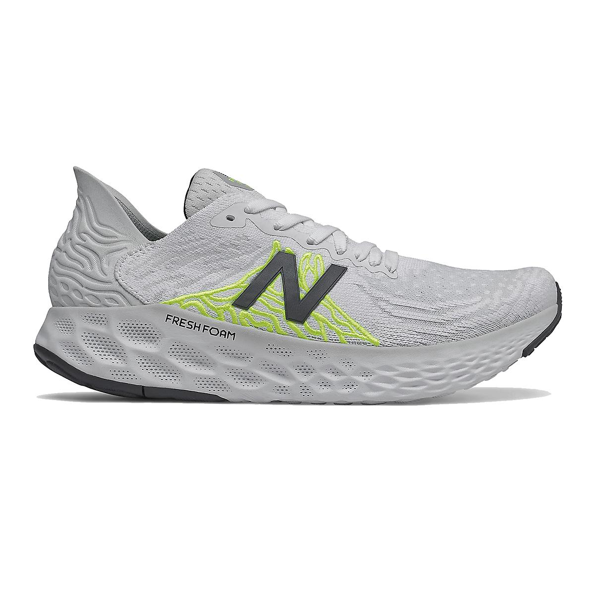 Women's New Balance Fresh Foam 1080v10 Running Shoe - Color: Light Aluminum - Size: 5.5 - Width: Extra Wide, Light Aluminum, large, image 1